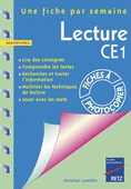 Lecture au CE1