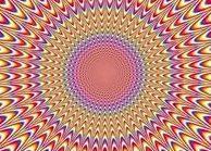 착시 현상. 눈이 피곤해.. Maddening Optical Illusion: