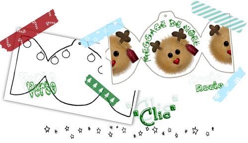 Les cartes de Noël...