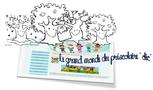 """La ronde des saisons """" Le printemps"""" de C.Roy"""