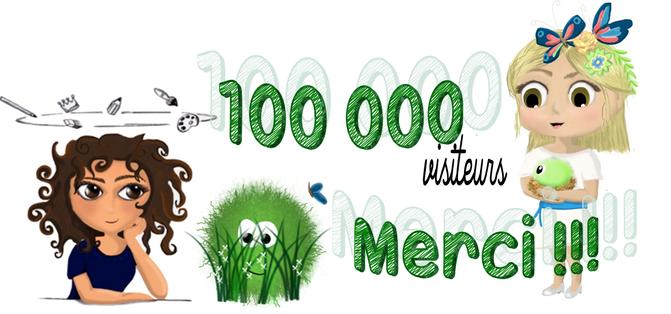100 000 visiteurs !!!!!
