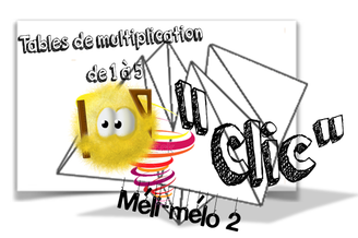 Méli-mélo des tables de multiplication...