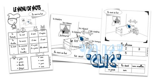 Lecture et production d'écrits avec Les Calmittos