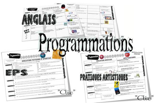 Les programmations 2016