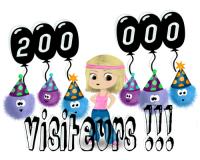 200 000 visiteurs !!