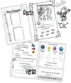 Mini-livre et carte de rentrée...CP-CE1-CE2