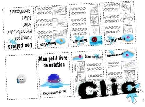 Module piscine en mini-livres A3 (CP/CE1)