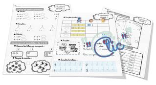 Evaluations CP période 1 mathématiques