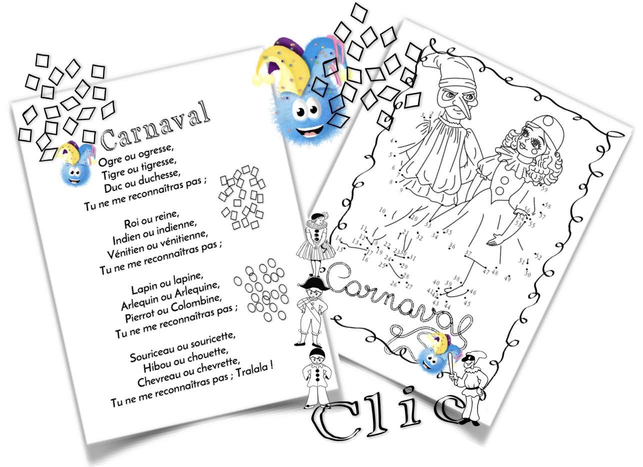 Poésie Le Carnaval Paulettetrottinette